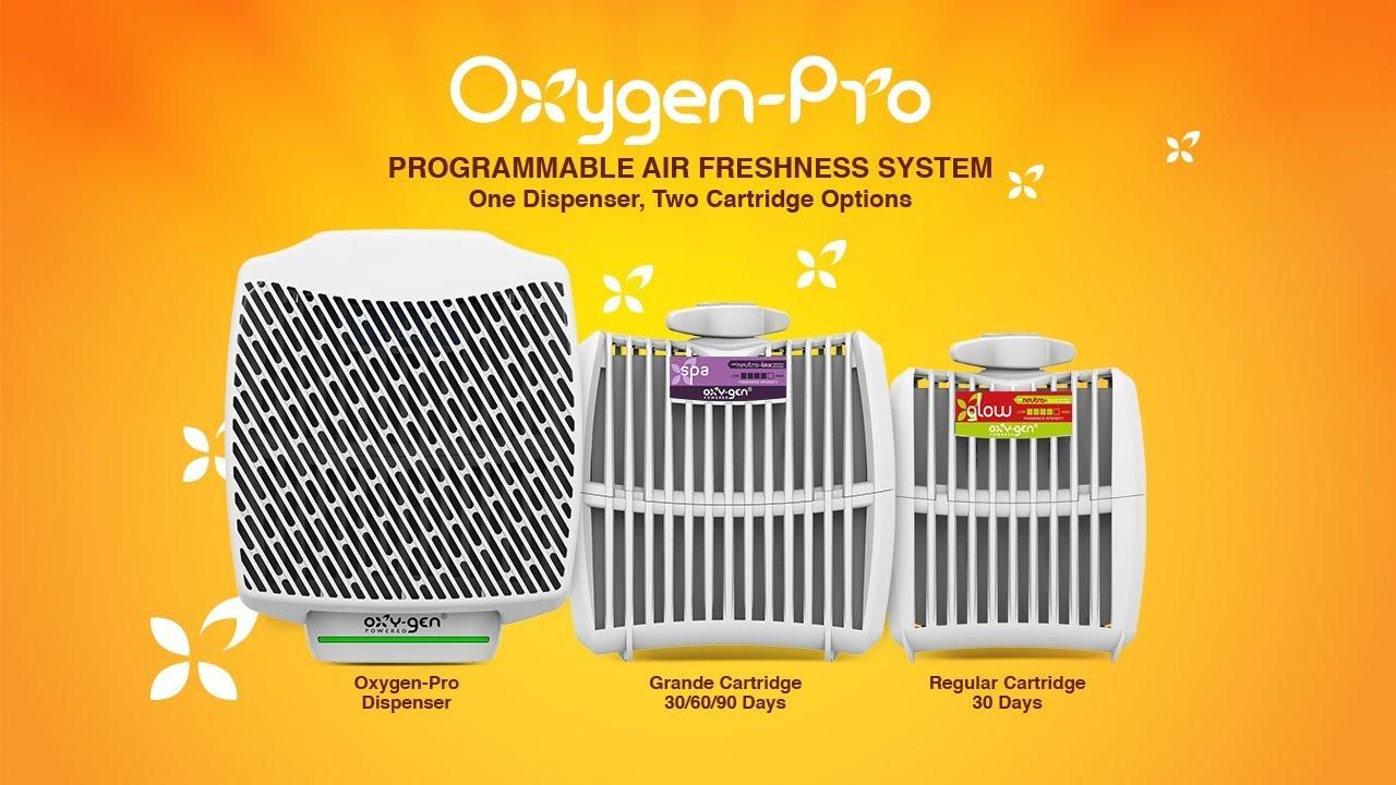 Oxy-Gen Powered Eco-Friendly Air Freshener