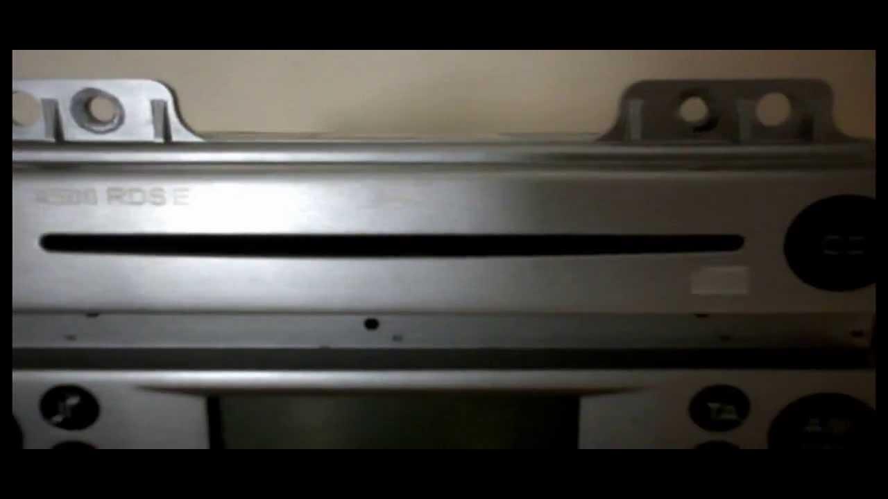как снять магнитолу на ford fusion cd4500
