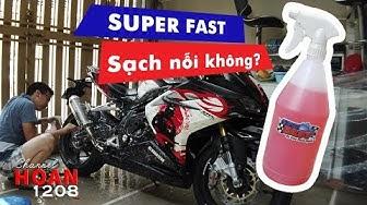 Test nước rửa xe SUPER FAST liệu có ăn nỗi Phạm Luân và kết quả y như mong đợi? Hoan1208