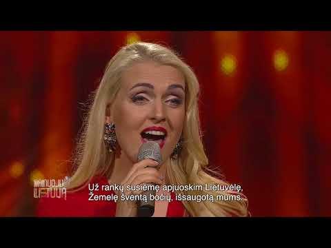 """Rūta Ščiogolevaitė - """"Lietuva"""" (Dainuoju Lietuvą)"""