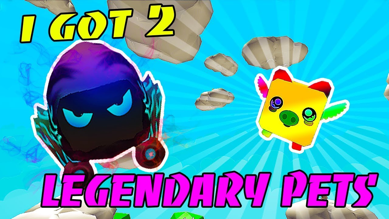 I GOT 2 LEGENDARY PETS IN THE BUBBLE GUM SIMULATOR (Roblox)