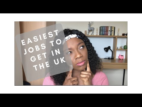 Easy Jobs to Get in the UK with Little or No Experience #NigerianinLondon
