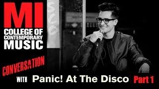 Panic! At The Disco Interview Part 1 | MI Conversation Series
