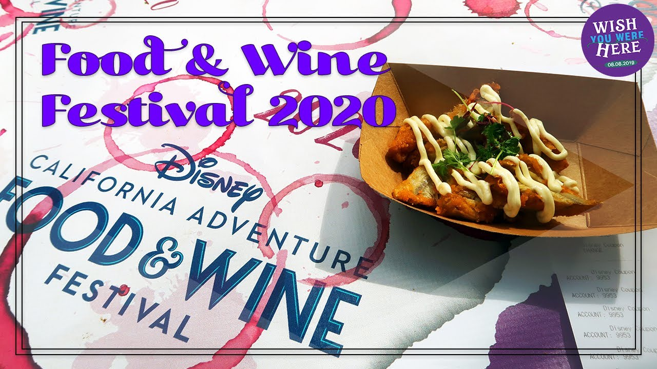 Disney's Food & Wine 2020: Day One of Food!