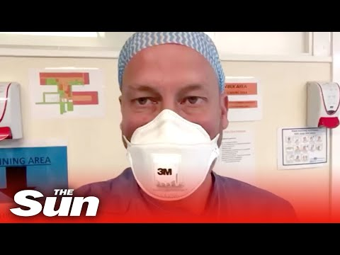 NHS doctor suffering