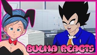 Bulma Reacts to Office Ball Z (Dbz Parody)