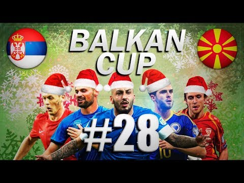 FIFA 18 - BALKAN CUP #28 - Serbia vs Macedonia - CHRISTMAS SPECIAL - Group B