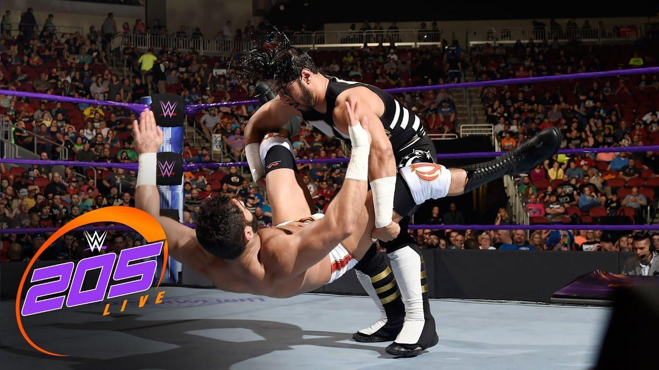 Download Mustafa Ali vs Ariya Daivari: WWE 205 Live, April 18, 2017