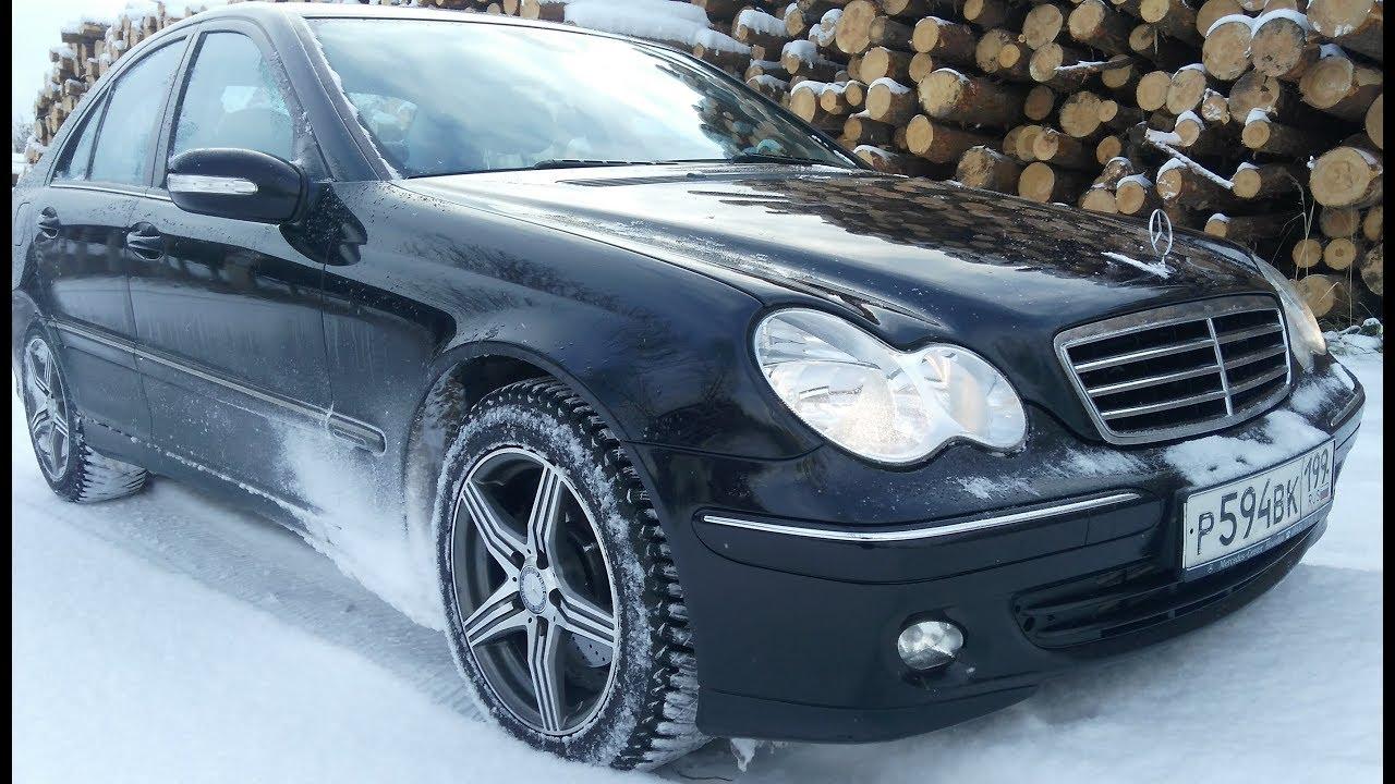 Болячки проблемы недочеты Mercedes Benz W203 - YouTube