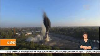 Wyburzony komin