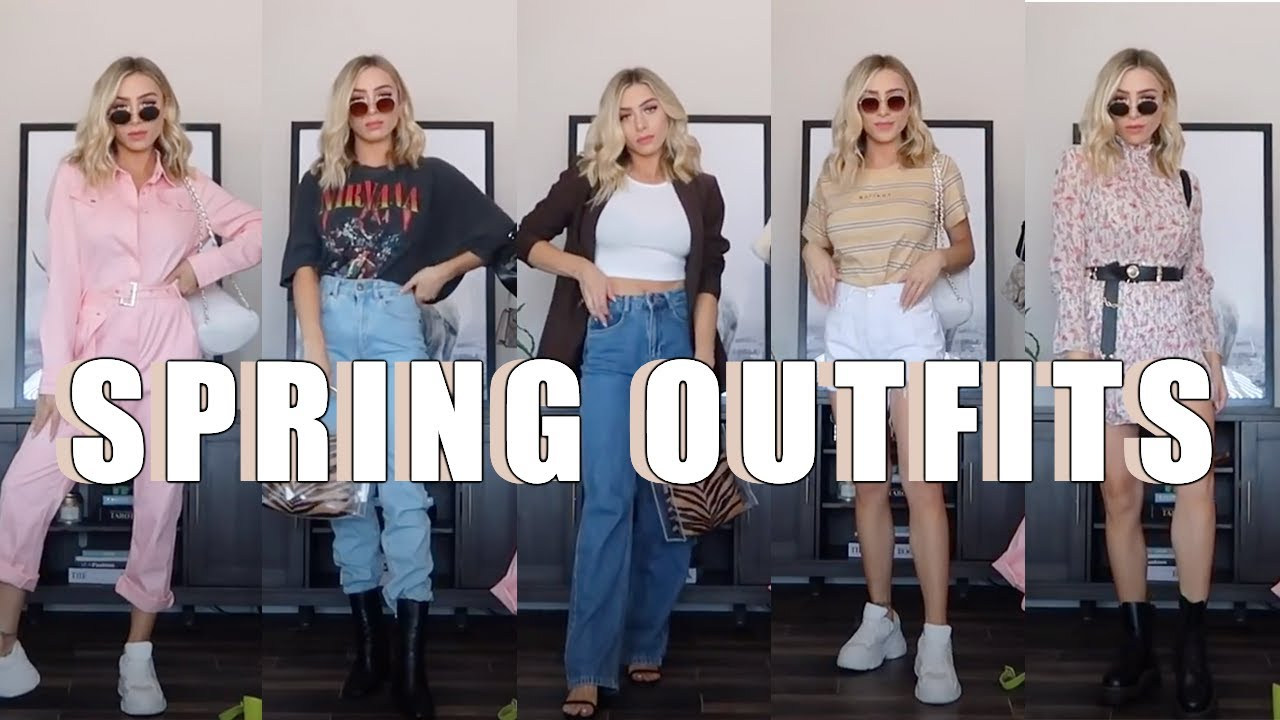10 SPRING OUTFIT IDEAS | Try on haul @thestyledseed 7