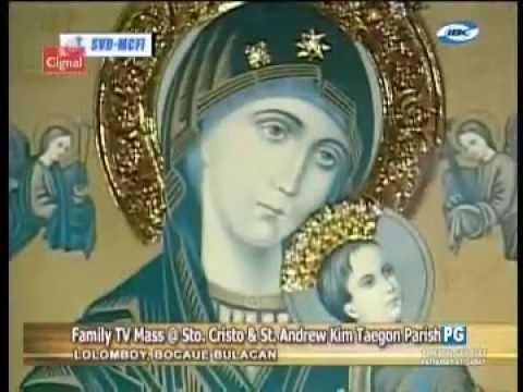 Sunday Family TV Mass May 29, 2016