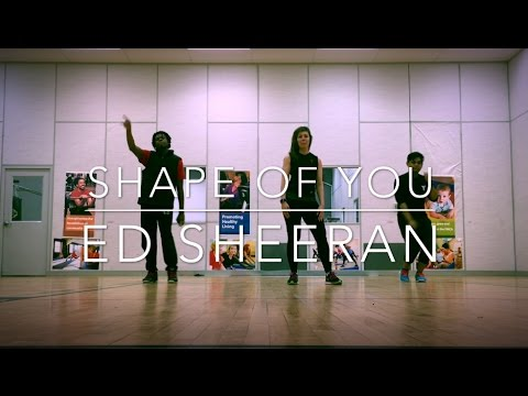 Shape of You Cover  Choreo Routine at the YMCA of