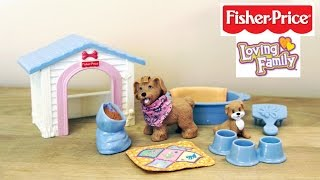 Fisher Price Loving Family Puppy Playtime - Doll Furniture