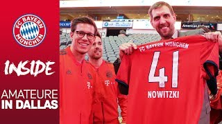 Dirk Nowitzki meets FC Bayern: Die Amateure in Dallas | Inside FC Bayern