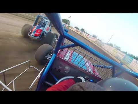 "Rich ""RoboCop"" Mellor #O2 NEWS New Egypt Speedway August 3rd Feature In-Car Camera"