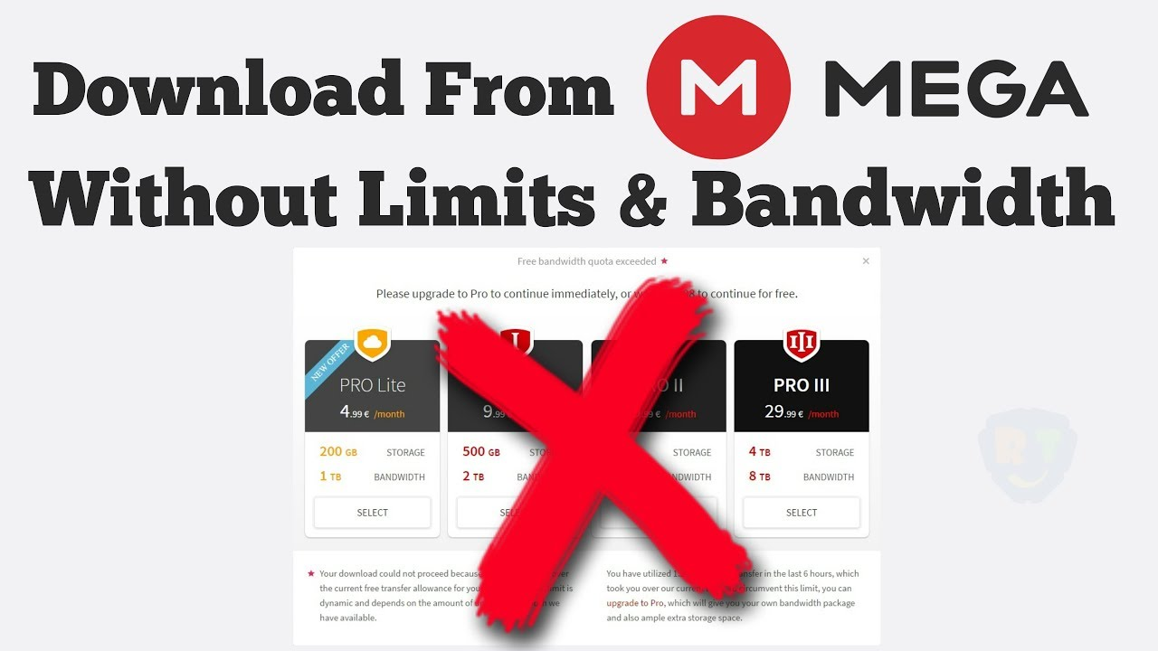 How To Download From MEGA Without Limits (Working 2019) [TUTORIAL]