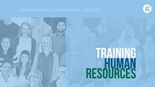 Training Human Resources