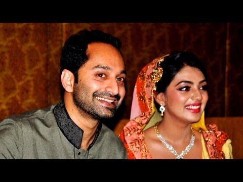 Fahad Faasil and Nazriya Nazim Engagement Visuals.