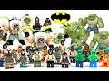 LEGO® Batman Rogues Gallery Bane & Killer Croc Villains Minifigure & Big Figure Collection