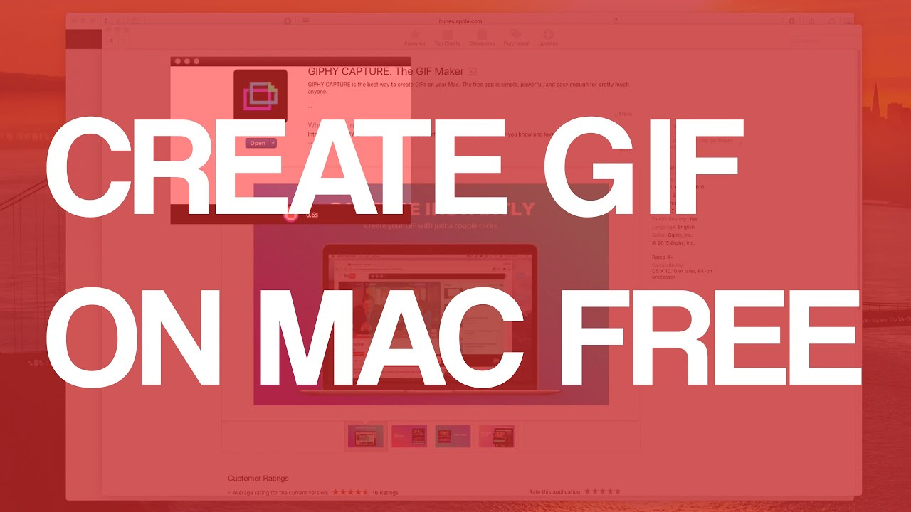 Best Way To Design Poster On Mac: How To Make GIF On Mac OS X Free - YouTuberh:youtube.com,Design