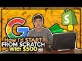 How I Would Re-Start Shopify Dropshipping With ONLY $500 In 2018!