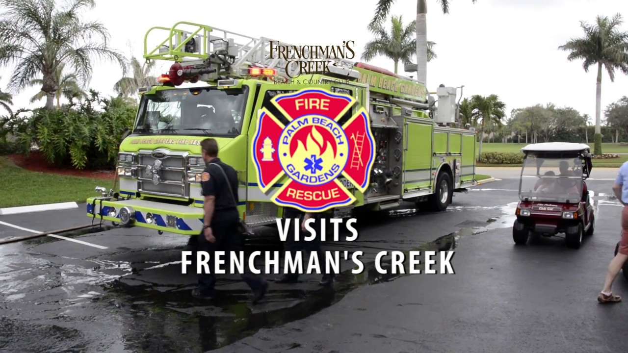 Palm beach gardens fire department youtube for Fire in palm beach gardens today