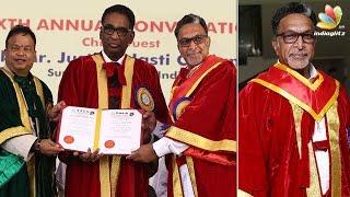 Doctorate for Nadigar Sangam President Nasser