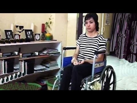 Wheelchair Killer Toddler Rocking Chair Confined To A By India S Roads She Waits For Justice