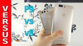 Huawei P9 vs Honor V8 -Grossoshop