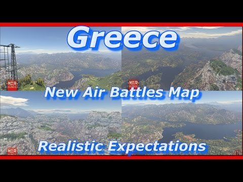 War Thunder || New Map - Greece - Realistic Expectations