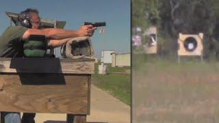 Baixar 400 yard shot with a 1911 .45 ACP pistol