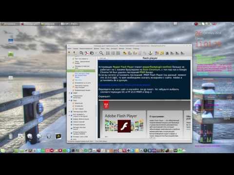 Установка Flash Player последней версии для Chromium-браузеров в Linux.