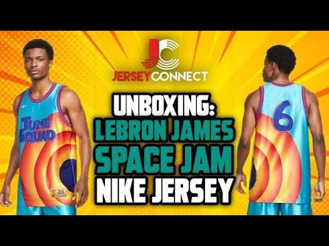 UNBOXING: LeBron James Space Jam Nike Jersey   Space Jam: A New Legacy  