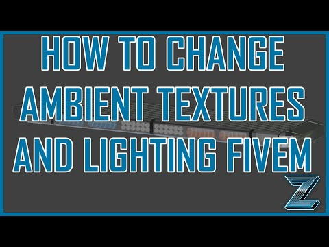 FiveM | How to change Light Textures & Ambient Color for