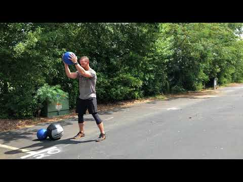 Medball Overhead Toss (aka Standing Power Throw (ACFT), aka MB Bomb Toss) | GPS Human Performance
