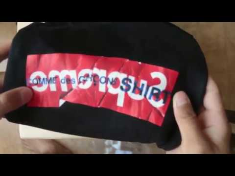 Supreme X Comme Des Garçons Shirt Box Logo Review