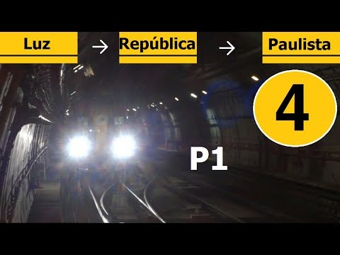 Metrô SP / São Paulo Subway / ViaQuatro Line 4 - Yellow P1/3