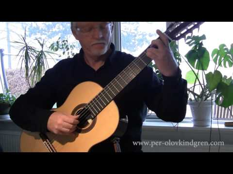 Londonderry Air (Danny Boy) for Classical guitar