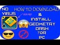 How to download and install Geometry Dash for pc