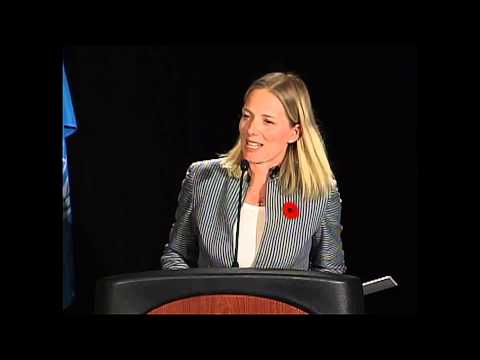 Catherine McKenna Addresses Student Leaders at Montreal Model United Nations 2010