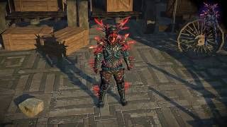 Path of Exile: Seawitch Armour Set