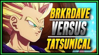 DBFZ ➤  Two Amazing Players Clash Tatsunical Versus Brkrdave [ DragonBall FighterZ ]