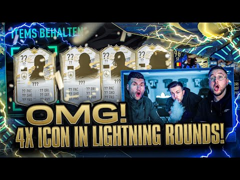 4x ICON in 2 Lightning Rounds gezogen 🔥 FIFA  21: Best of Serie A TOTS Pack Opening 💸