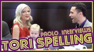 Tori Spelling Opens Up About Her Family and Her Dreams!