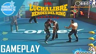 aaa lucha libre heroes del ring gameplay espaol