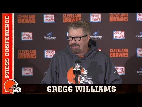 Gregg Williams on Victory Over Panthers 'Never Easy, Always Fun' | Cleveland Browns