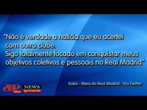 Kaká confirma que fica no Real Madrid