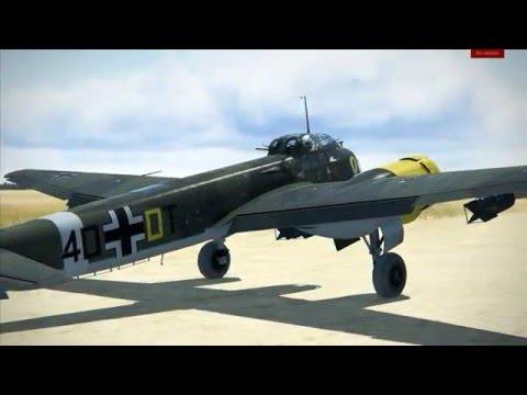 IL-2 Sturmovk: Ju 88 A-4 first flight