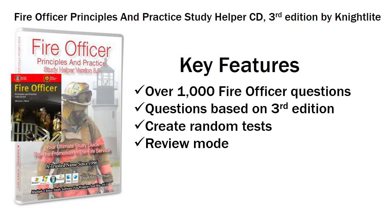 fire officer principles and practice 3rd edition study helper cd rh youtube com Principles Practices and Icons Plant Propagation Principles and Practices